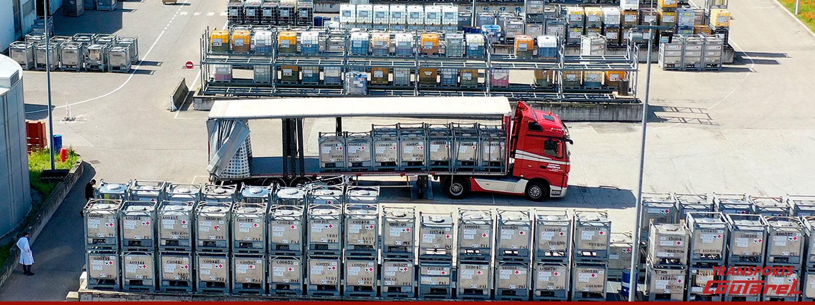 Transport de matières dangereusesdans la région lyonnaise