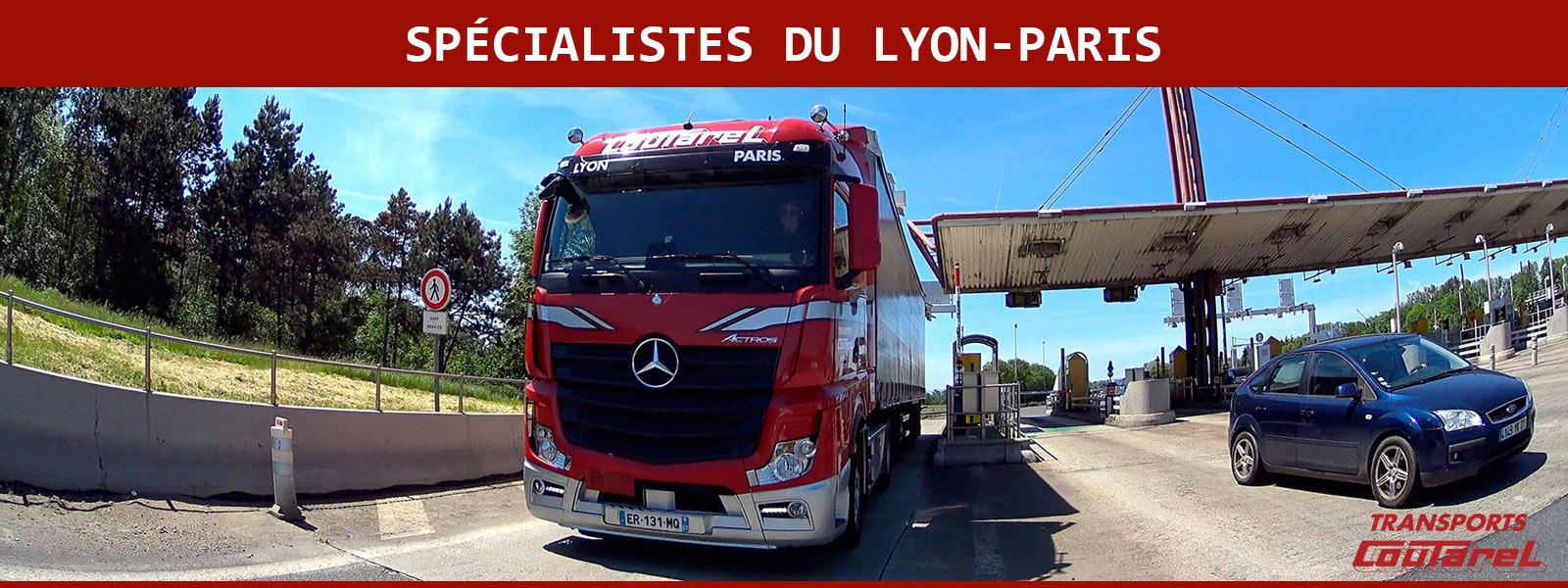 Transport routier: notre ligne quotidienne Lyon-Paris