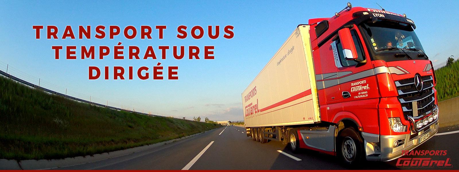 Transport frigorifique de produits pharmaceutiques à Lyon