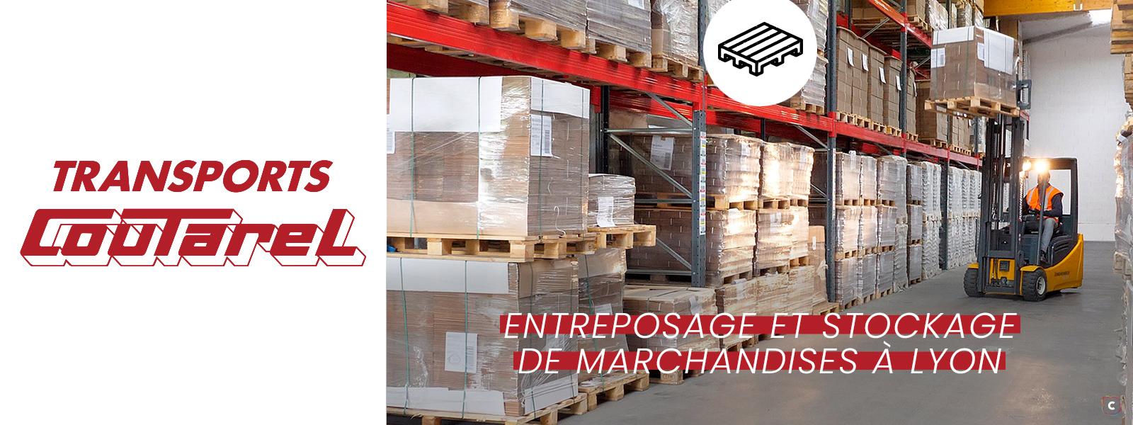 Entreposage et stockage de marchandises à Lyon