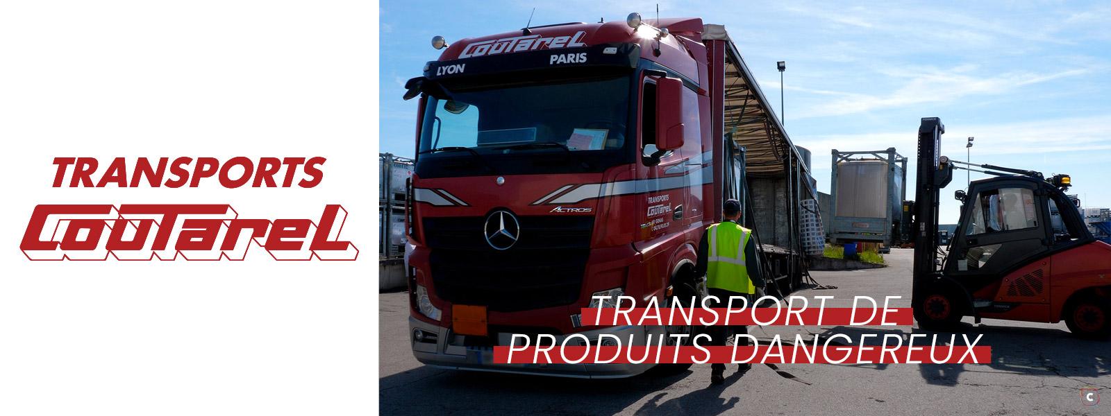 Transport de produits dangereux: la sécurité prime!