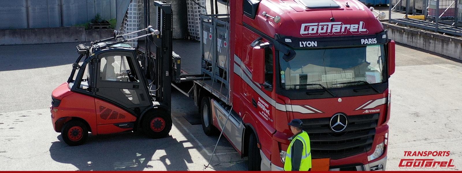 Transport de produits dangereux dans le Rhône et l'Isère
